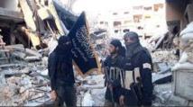 La coalition frappe les jihadistes près  de la frontière turque