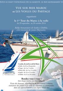 Premier Tour du  Maroc à la voile