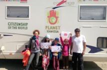 La famille Atmani entame la deuxième étape de son tour du monde