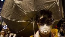 """Une """"révolution aux parapluies"""" pour plus de libertés démocratiques à Hong Kong"""