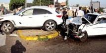 Les accidents de la circulation font 13 morts et 1.353 blessés