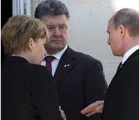 Une possible rencontre  Poutine-Porochenko à Milan