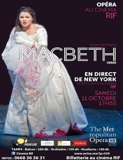 "Le"" Metropolitan Opera"" de New York   en direct au cinéma Rif"