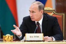 Poutine ordonne le retrait  de ses troupes de la frontière  avec l'Ukraine