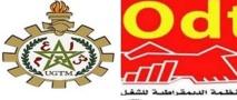 L'UGTM et l'ODT se joignent à la grève générale