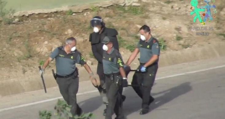 Les agents de la Guardia civil à Mellilia mis au pilori par les ONG espagnoles