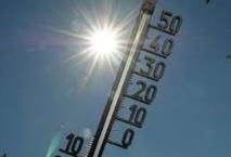 Hausse sensible  des températures