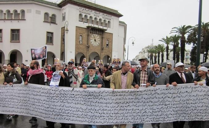 Marche à Rabat contre le retour aux années de plomb