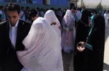 """A Kaboul, les mariages collectifs anti """"bling bling"""" ont le vent en poupe"""