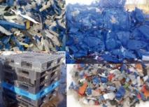 Les déchets plastiques exposés à Casablanca