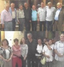 La sélection marocaine en compagnie de Mahmood Zia, ex-champion du monde de bridge