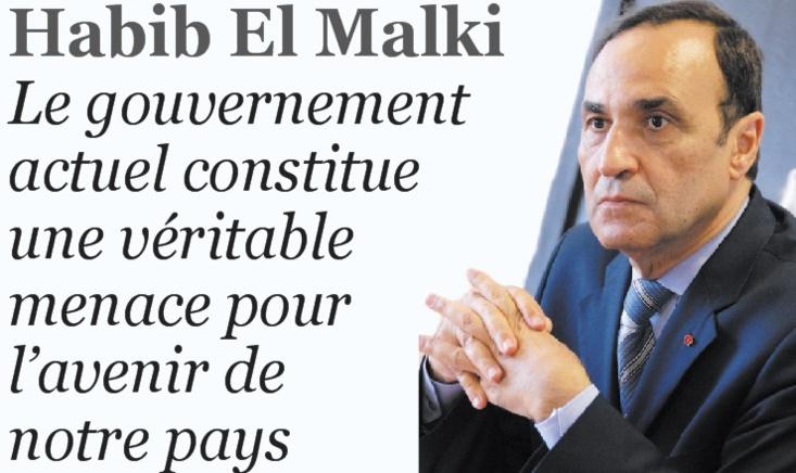 Habib El Malki : Le gouvernement actuel constitue une véritable menace pour l'avenir de notre pays