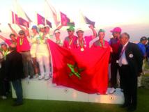 Le Maroc remporte la 15ème édition des Championnats panarabes juniors de golf