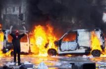 Manifestations monstres  en Belgique contre l'austérité