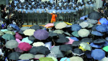 """Révolution des parapluies"" à Hong Kong"