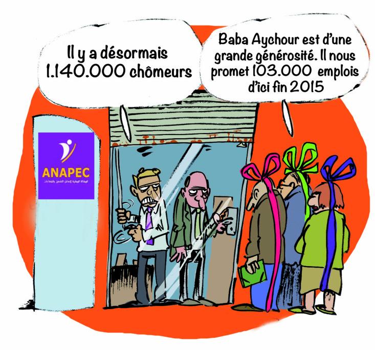 L'Anapec vole au secours  du gouvernement Benkirane