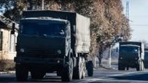 Renforts en armes lourdes vers Donetsk