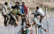 300 migrants subsahariens tentent d'entrer à Sebta