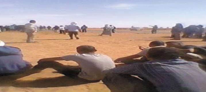 Manifestations et sit-in à Rabouni