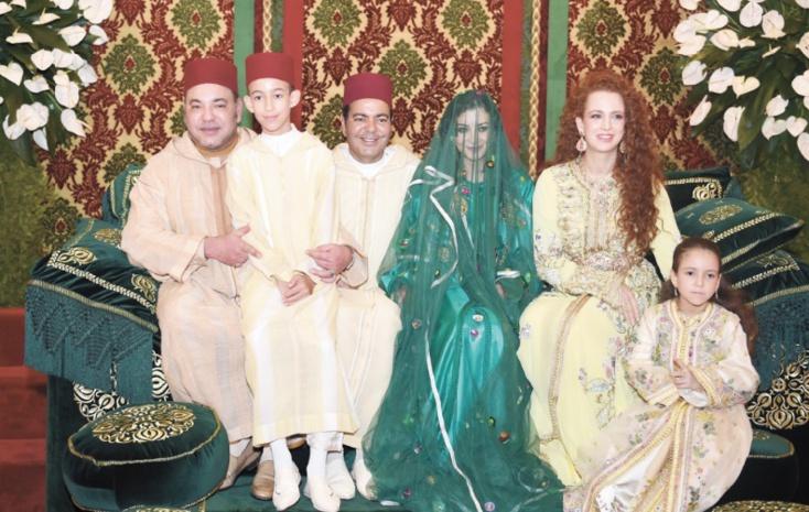 S.M le Roi préside les cérémonies du mariage de S.A.R le Prince Moulay Rachid