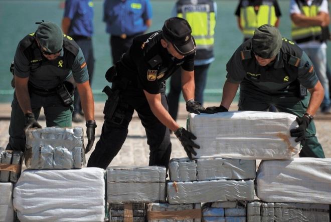 3.600 Marocains appréhendés en Espagne pour trafic de drogue