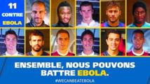 La FIFA et les stars du foot se mobilisent contre Ebola