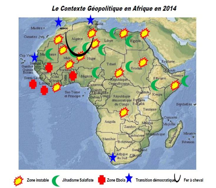 L'Histoire et la Géographie : Deux déterminants géostratégiques  en Afrique