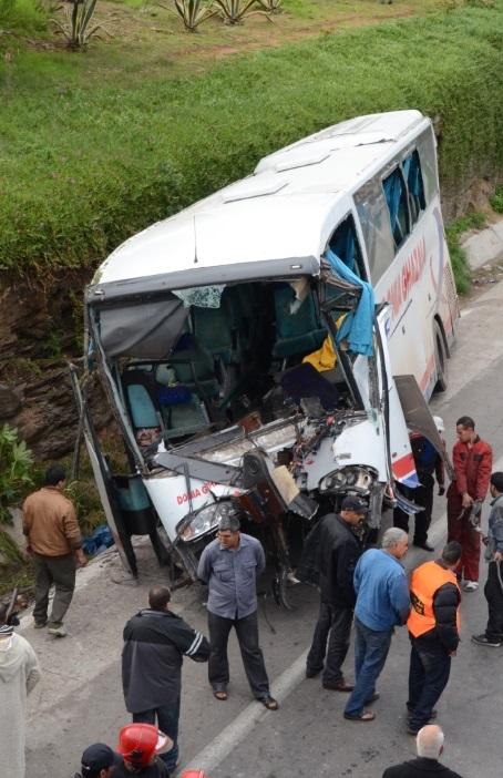 Accident mortel à Casablanca