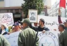 Sit-in à Rabat contre les violations des droits de l'Homme par le Polisario