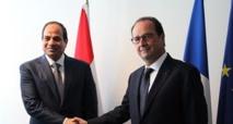 Le président égyptien  Sissi à Paris