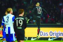 Le Bayern assure l'essentiel à Berlin