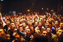 Manifestations contre  le verdict du procès Moubarak