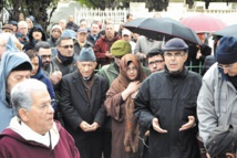Obsèques de Latifa Tazi