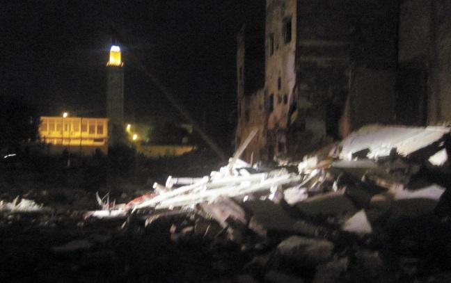 La série noire des effondrements continue à Casablanca
