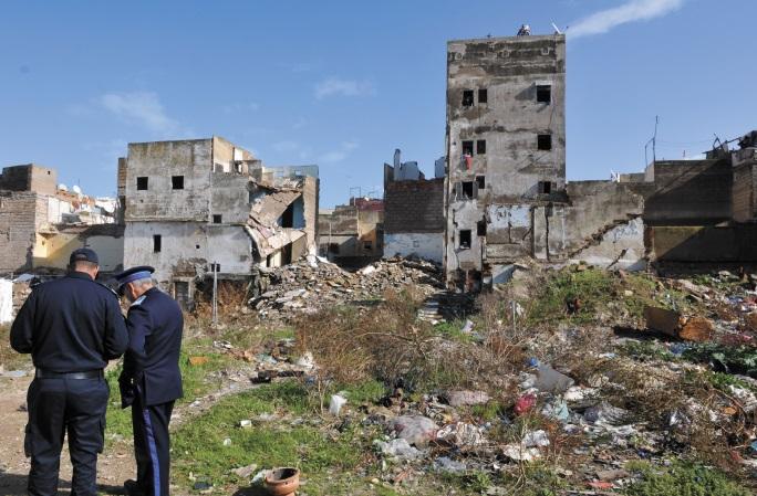 Des habitants de la médina de Casablanca délogés de leurs demeures