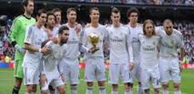 Le Real Madrid au complet