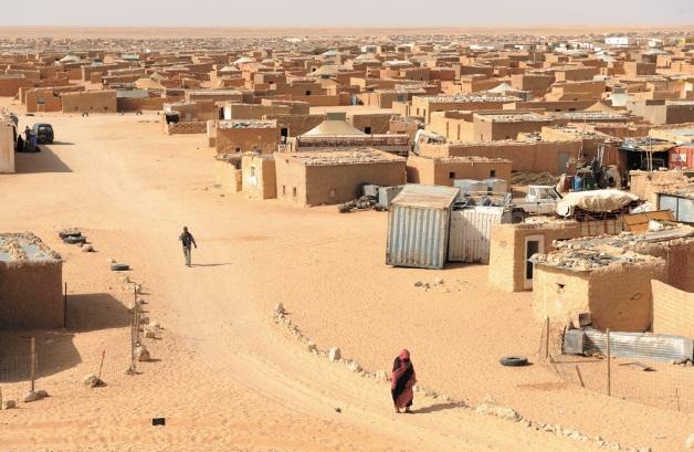 Les drapeaux marocains flottent sur les camps de Tindouf