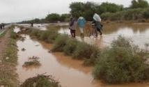 Distribution d'aides aux victimes des inondations de Guelmim