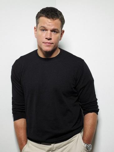 Les stars : bosse des maths ou bonnet d'âne ?  Matt Damon