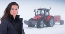 Insolite : Pôle Sud en tracteur