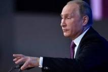 """Poutine accuse l'Occident de créer un nouveau """"Mur"""" en Europe"""