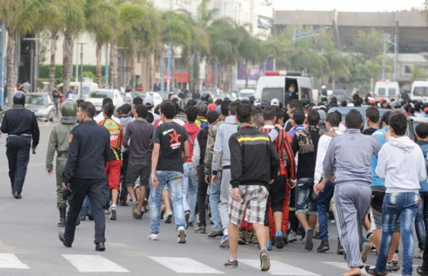 La guerre de couleurs entre ultras wydadis et rajaouis