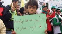 Manifestation à Rabat contre la marginalisation des handicapés mentaux