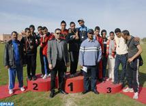 Championnat régional de cross-country  scolaire à Marrakech