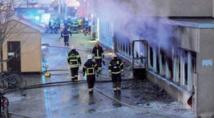 Deuxième incendie de mosquée en cinq jours en Suède
