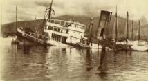 Mise au jour d'un navire britannique échoué au Sud d'Agadir
