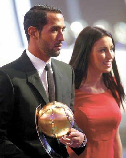 Benatia meilleur footballeur arabe 2014