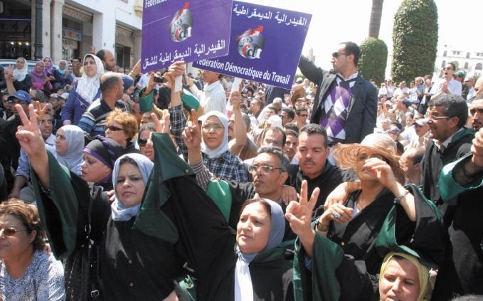 Les fonctionnaires de la justice haussent le ton contre les lois scélérates de Ramid