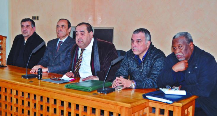 Rencontre du BP avec le personnel d'Al Ittihad  Al Ichtiraki  et Libération