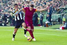 La Roma met la pression sur la Juve
